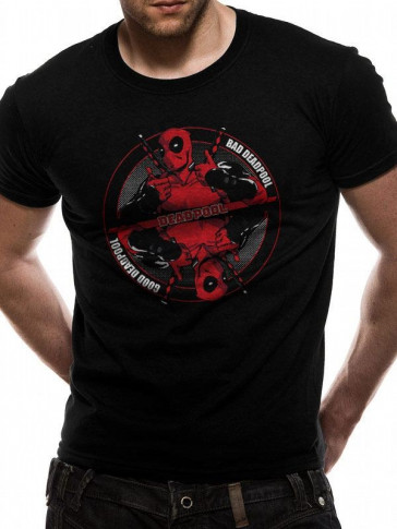 Deadpool T-Shirt Bad Good