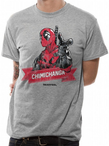 Deadpool T-Shirt Chimichanga Point