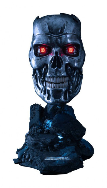 Terminator T-800 Endoskelett Maske Replik 46 cm
