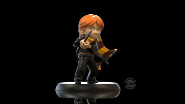 Harry Potter Ron Weasleys First Wand Q-Fig Figur 10 cm