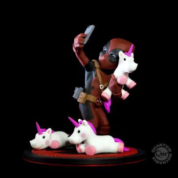 Marvel Deadpool Q-Fig Diorama #unicornselfie 10 cm