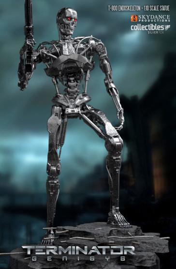 Terminator T-800 Endoskeleton Statue 29 cm
