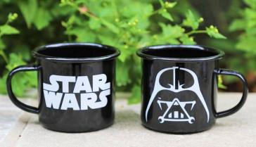 Star Wars Emaille Tasse Darth Vader