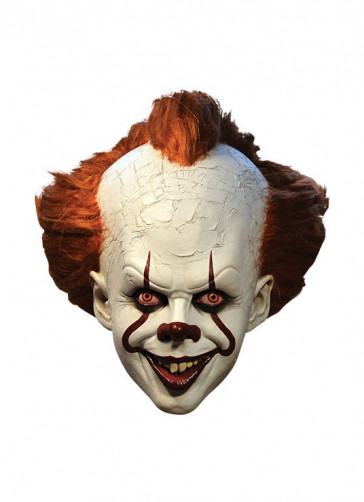 Stephen Kings Es 2017 Pennywise Latex-Maske Deluxe Edition