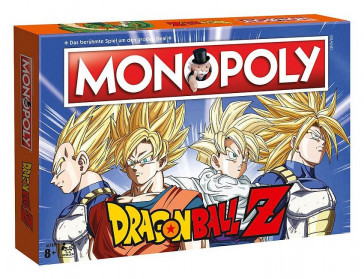 Dragonball Z Brettspiel Monopoly *Deutsche Version*