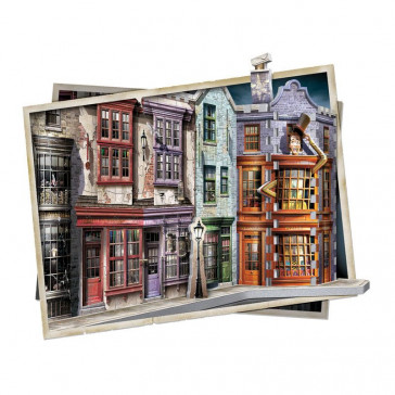 Harry Potter Winkelgasse 3D Puzzle Diagon Alley