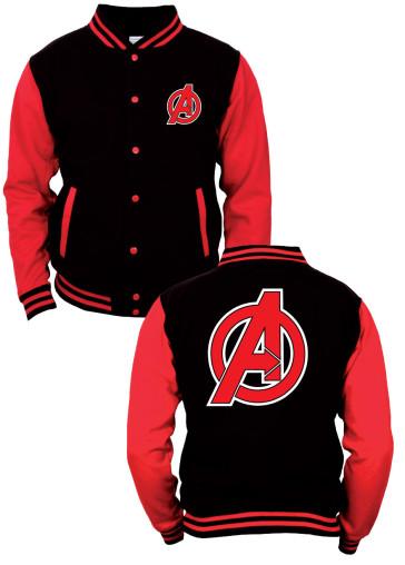 Avengers Baseball Jacke Logo