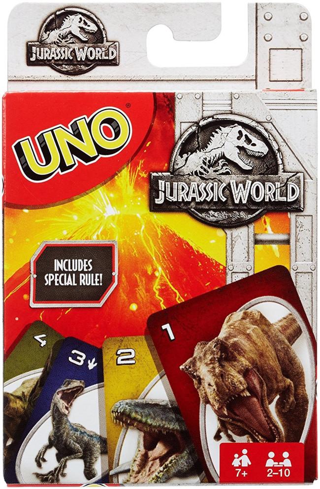 jurassic world uno kartenspiel jetzt online kaufen