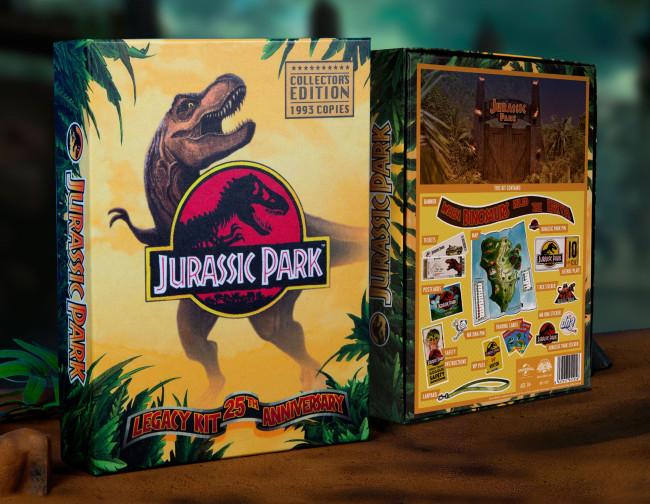 Jurassic Park 25th Anniversary Geschenkbox Legacy Kit Jetzt Online