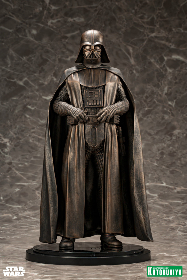 Star Wars Darth Vader Bronze Artfx Statue 32 Cm Swc 2019 Exclusive
