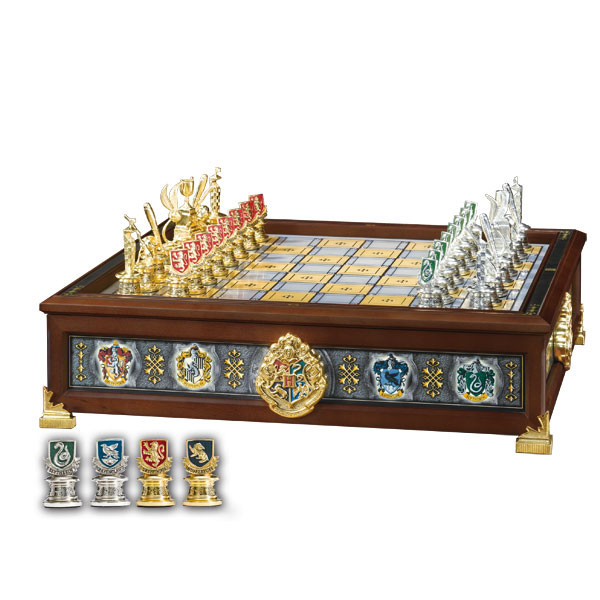 harry potter die h user hogwarts quidditch schach. Black Bedroom Furniture Sets. Home Design Ideas