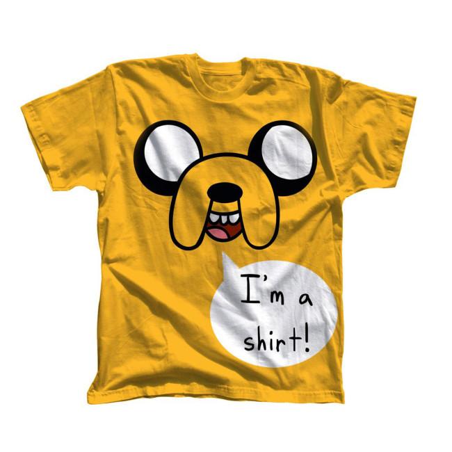 Adventure Time T Shirt I M A Shirt Jetzt Online Kaufen Eliveshop De