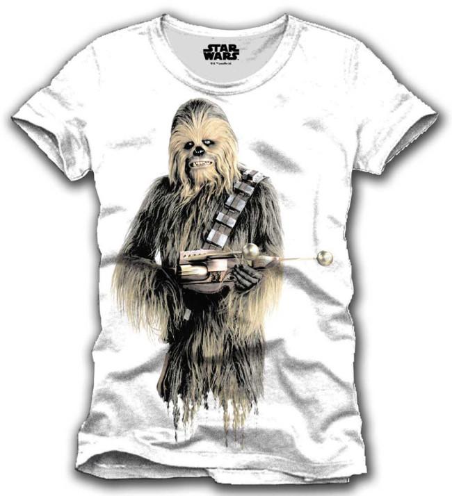 Star Wars Episode Vii T Shirt Chewbacca Jetzt Online Kaufen