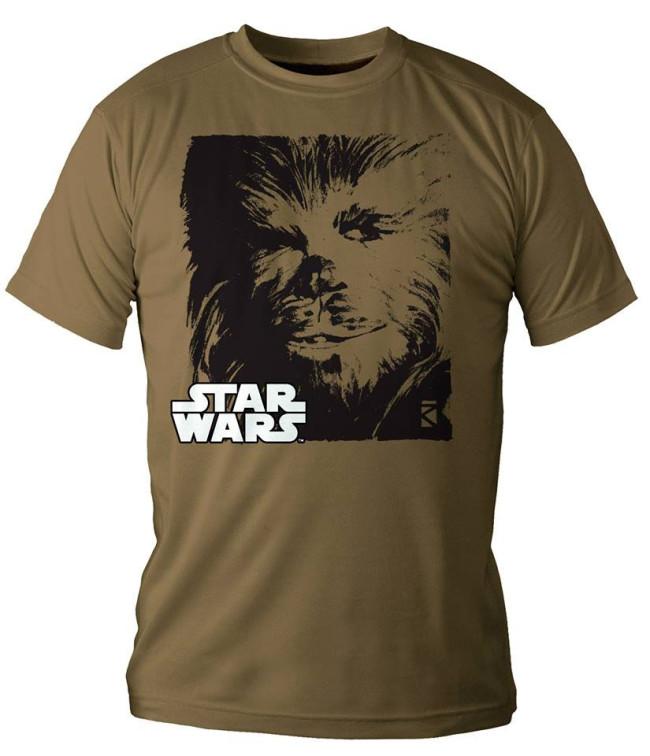 Star Wars T Shirt Chewbacca Jetzt Online Kaufen Eliveshop De