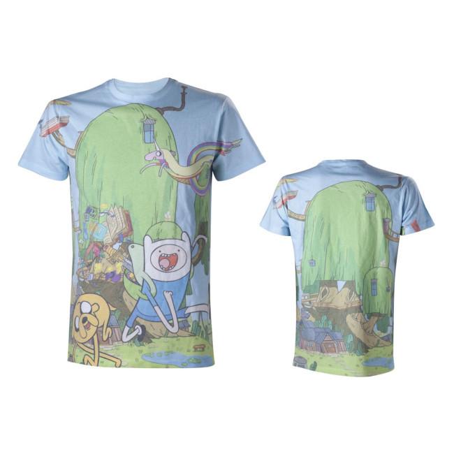 Adventure Time T Shirt Sublimation Jetzt Online Kaufen Eliveshop De