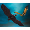 Godzilla Mothra & Rodan S.H. MonsterArts Actionfiguren Doppelpack