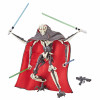 Star Wars General Grievous Black Series Actionfigur 18 cm