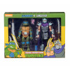 Teenage Mutant Ninja Turtles Leonardo vs Shredder Actionfiguren Doppelpack 18 cm
