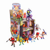 Masters of the Universe Wave 2 Action Vinyls Minifiguren 8 cm Display