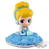Disney Q Posket SUGIRLY Minifigur Cinderella A Normal Color Version 9 cm