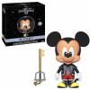 Kingdom Hearts 3 5 Star Vinyl Figur Mickey 8 cm