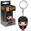 Elvira Pocket POP! Vinyl Schlüsselanhänger Elvira Red Dress Hot Topic Exclusive 4 cm