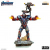 Avengers: Endgame Iron Patriot & Rocket BDS Art Scale Statue 28 cm