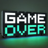 8-BIT Lampe Game Over Leuchte 30 cm