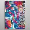 Marvel Metall-Poster GOTG2 Guardians 10 x 14 cm