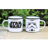 Star Wars Emaille Tasse Stormtrooper