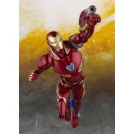 Avengers Infinity War S.H. Figuarts Actionfigur Iron Man MK 50 & Tamashii Stage 16 cm