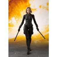 Avengers Infinity War S.H. Figuarts Actionfigur Black Widow & Tamashii Effect Explosion 15 cm