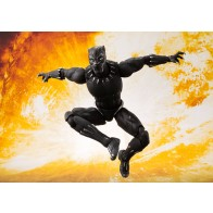 Avengers Infinity War S.H. Figuarts Actionfigur Black Panther & Tamashii Effect Rock 16 cm