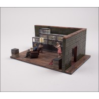 Walking Dead Governor Fish Tank Room Building Sets Bausatz