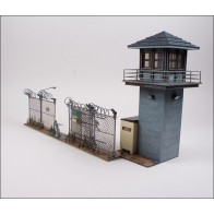 Walking Dead Prison Tower & Gate Building Sets Bausatz