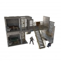 Walking Dead Prison Catwalk Building Sets Bausatz