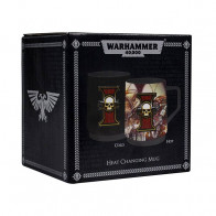 Warhammer 40k Tasse mit Thermoeffekt Inquisition