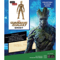 Guardians of the Galaxy IncrediBuilds 3D Modellbausatz Groot *Englische Version*