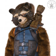 Guardians of the Galaxy Shoulder Sitter Groot Kostüm-Zubehör 26 cm