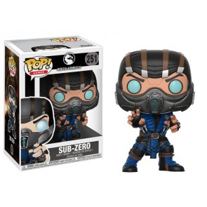 Mortal Kombat Sub-Zero POP! Figur 9 cm