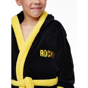 Rocky Kids Fleece-Bademantel Italian Stallion Größe L
