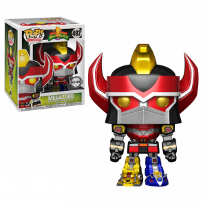 Power Rangers Megazord POP! Figur Metallic 9 cm