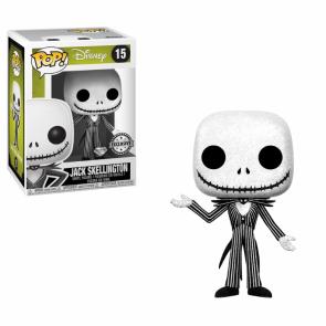 Nightmare Before Christmas Jack Skellington POP! Glitter Figur 9 cm
