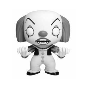 Stephen Kings Es Pennywise POP! Black & White Figur 9 cm