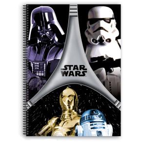 Star Wars Notizbuch A4 Darth Vader