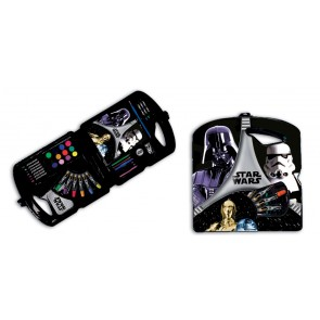 Star Wars Malkoffer 39 Teile Darth Vader