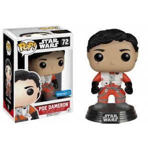 Star Wars VII Poe Dameron POP! Figur No Helmet 10 cm Exclusive