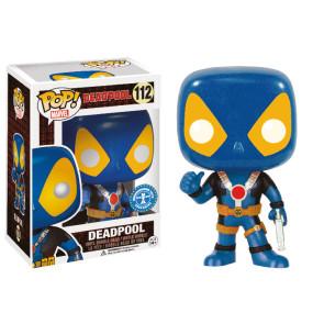 Marvel Comics Blue Deadpool Thumbs Up POP! 9 cm Exclusive