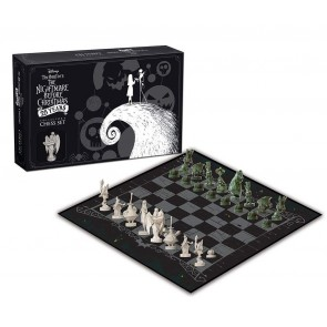 Nightmare before Christmas Schachspiel Collectors Set 25 Years