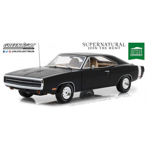 Supernatural 1970 Dodge Charger 1/18 Diecast Modell